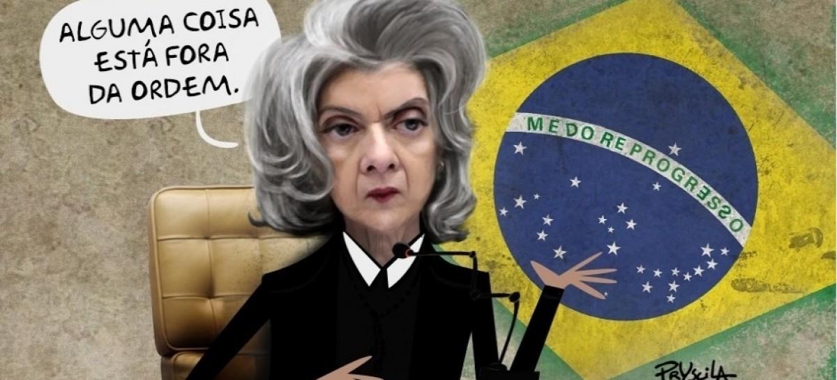 Vergonha! Cármen Lúcia aquiva investigação sobre denúncias contra ministros  do STF   mapping.com.br